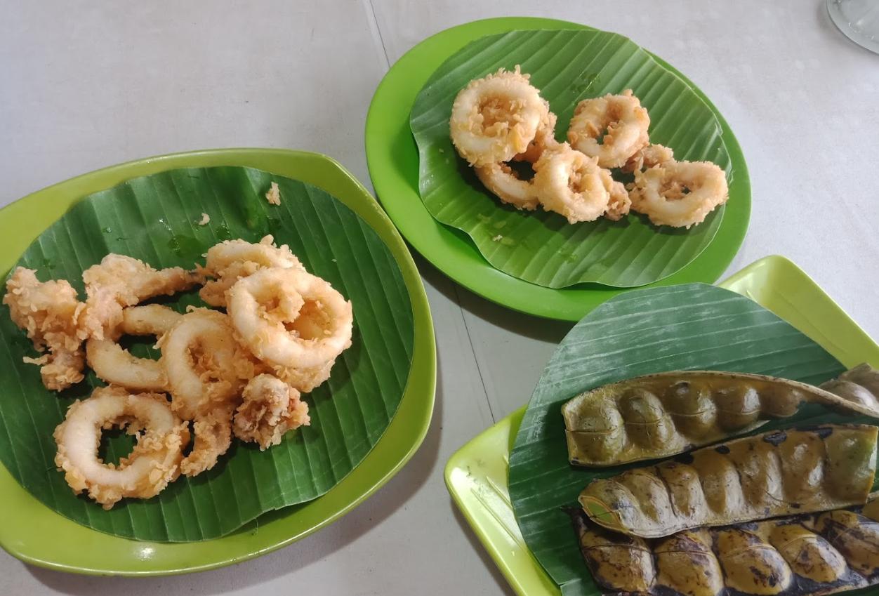 Cumi Tepung Rumah Makan Wulan Sari