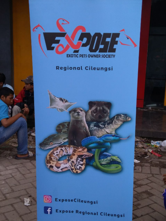 Exotic Pets Owner Society Regional Cileungsi