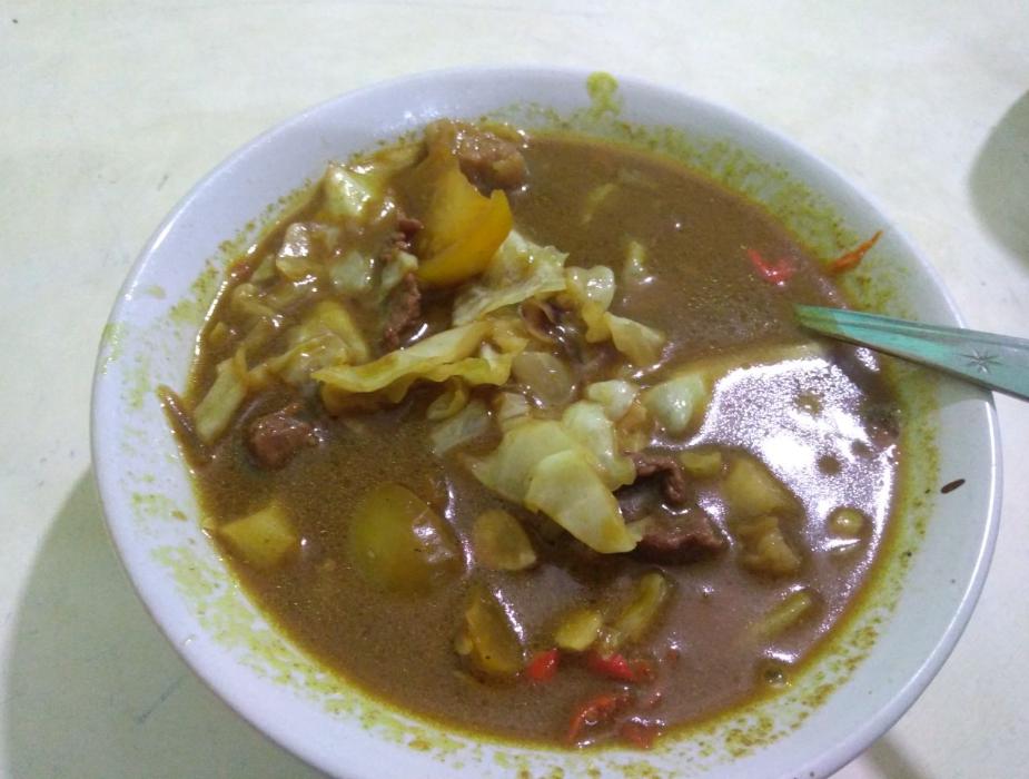 Porsi Tongseng Pak Min Ciracas 02