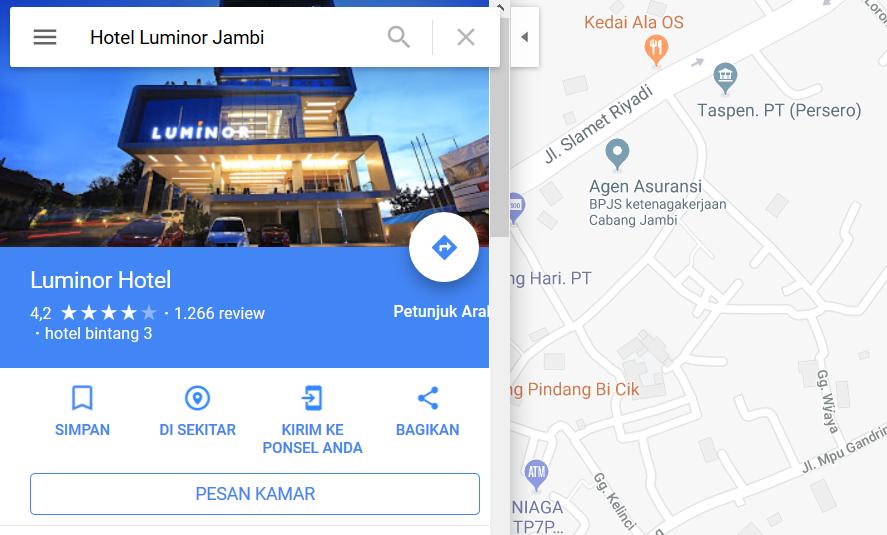 Contoh Cari Lokasi Di Google Map